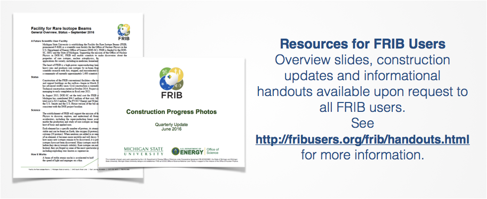 FRIB Information Resources